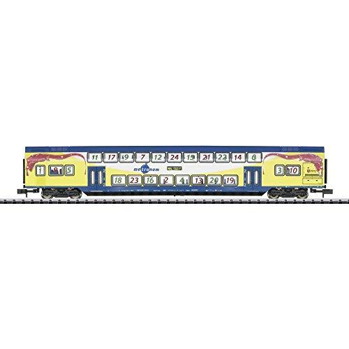 Trix 15396 - Doppelstockwagen Metronom 2.Kl., Minitrix