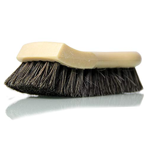 Chemical Guys Acc_S95 Long Bristle Horse Hair Leather Cleaning Brush, 1 Pack