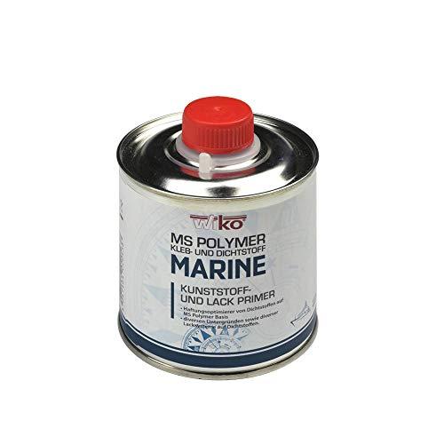acerto 40225 WIKO MARINE universal Haftreiniger Primer 250 ml zur Haftungsoptimierung von Kleb-und Dichtstoffen MS Polymer