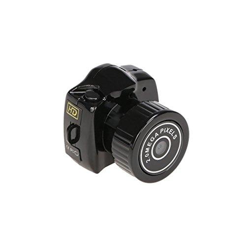 Hikenn HD Webcam Mini Kamera Video Recorder DVR kleinste Camcorder Spy versteckte Loch