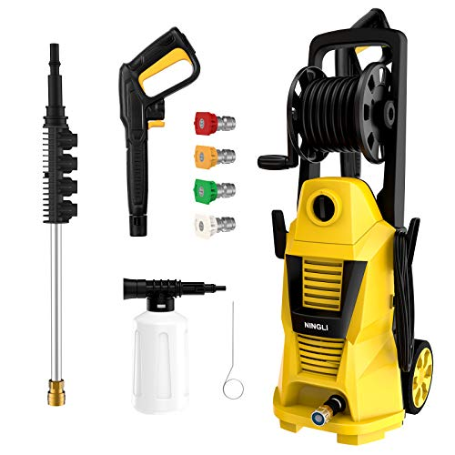 Electric Pressure Washer,3500PSI 2.0GPM Power...