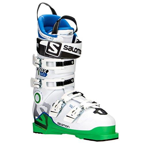 SALOMON(サロモン)X MAX 120 スキーブーツ 大人用 レーサー エキスパート向け L37812800 GreenWhite 26.5