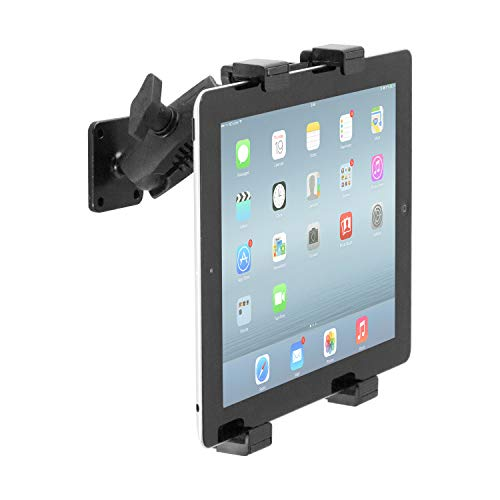 """iBOLT TabDock AMPs - Heavy Duty Drill Base Mount for All 7"""" - 10"""" Tablets ( iPad , Samsung Tab ) for Cars, Desks, Countertops: Great for Commercial Vehicles, Trucks, Homes, Schools, and Businesses"""