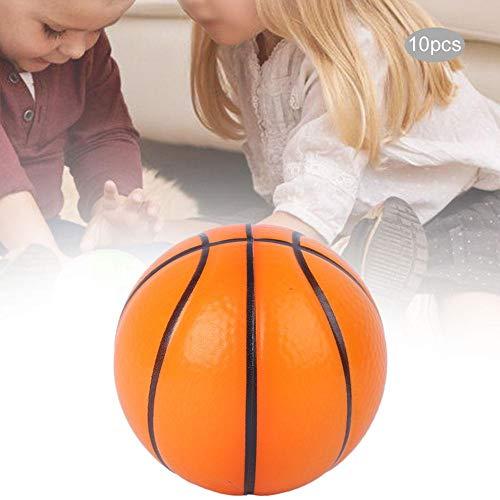 Juguete de pelota de descompresión, juguete educativo de pelota de baloncesto de descompresión, juguete de pelota para(Environmentally friendly orange)