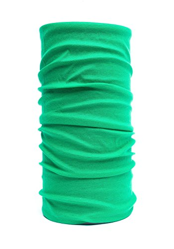 Nexi Multifunktions Tuch Schlauchtuch - universell einsetzbar als Schal, Kopftuch, Kälteschutz - Unicolour U02