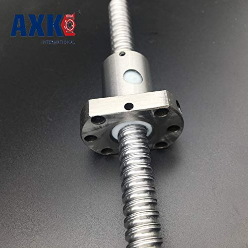 Ochoos Promotion New Rodamientos Bearing Rm1204 Ball Screw Sfu1204 L= 440mm Rolled Ballscrew with Single Ballnut for CNC Parts