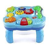 Baby Lerntisch - Baby Toys Musikalische Lerntisch Wassertiere Musik Aktivität Center Spieltisch Kleinkinder, Kleinkind, Kinder Spielzeug Für 1 2 3 Jahre Alt Jungen & Mädchen