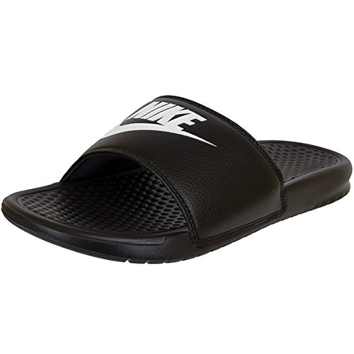 Nike Benassi Just do it Sandalen Nikeletten (45 EU, schwarz)