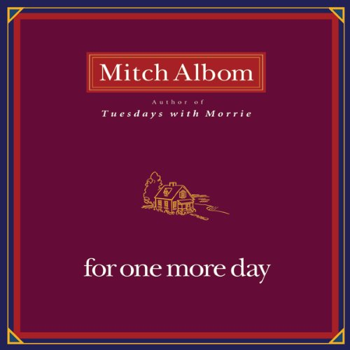 For One More Day audiobook cover art