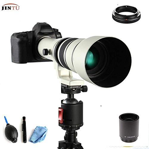 JINTU - Teleobjetivo para Nikon F FX DX D5 D850 D750 D7500 D5600 D3400 D3000 D3100 D3300 D33500 D5500