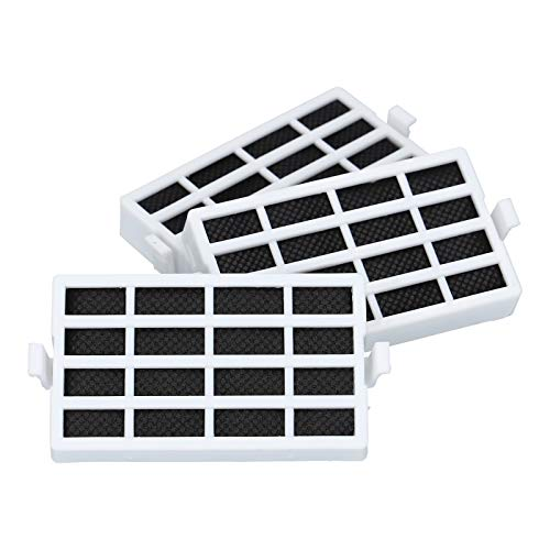 3 x filtre à air antibactérien pour Whirlpool Bauknecht 481248048172 481248048173 Wpro HYG001 ANT001 réfrigérateur frigo
