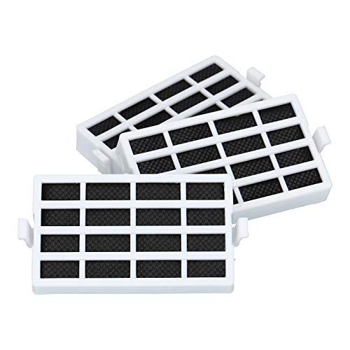 3 x filtro antibacteriano para Bauknecht Whirlpool 481248048172 481248048173 Wpro HYG001 ANT001 refrigerador frigorífico