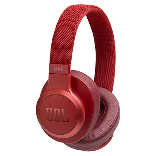JB Live 500 BT, Around-Ear Wireless Headphone - Red