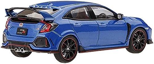 clásico atemporal True Scale Miniatures TSM430276 - Honda Civic Type R R R Aegean azul Metallic RHD - Escala 1 43 - Vehiculo en Miniatura montado y Pintado  tienda de ventas outlet