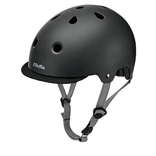Electra Bicycle Electra Fahrrad Helm Solid Attitude Fashion Serie, EHelm, Farbe Schwarz Matt, Größe L