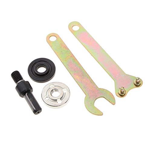 5 Sätze Bohrmaschine Konverter Spindel Angle Grinder Drill Adapter Winkelschleifer - 10 mm