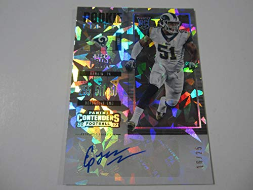 2017 Panini Contenders Ejuan Price Rookie Autographed Card Cracked Ice #