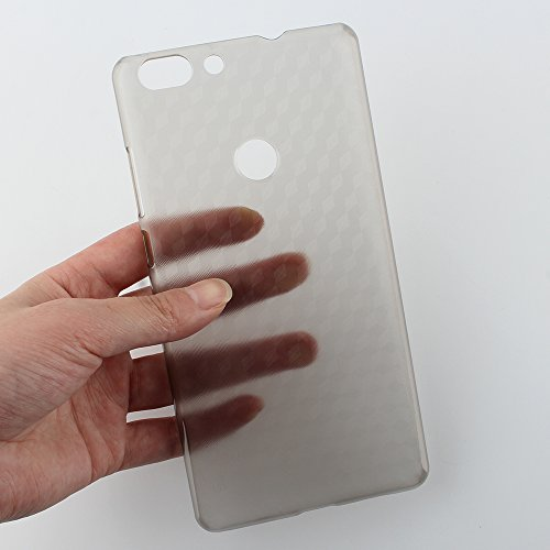 Frlife Elephone C1 Max Custodia, Elephone C1 Max Copertura in Plastica Dura Case Cover Shock-Absorption Cover e Anti-Scratch Clear Back per Elephone C1 Max