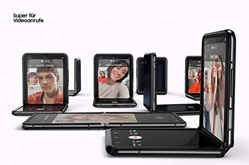 Samsung Galaxy Z Flip (17,03 cm) 256 GB interner Speicher, 8 GB RAM, Dual SIM, Deutsche Version, mirror purple