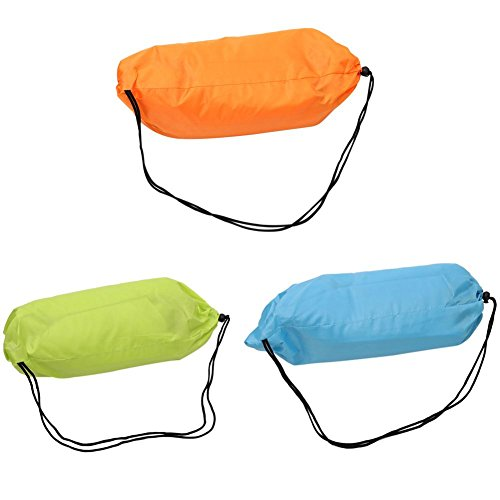 N/F Outdoor Accessories Sofa Shape Airbags Lazy Sofa Inflatable Air Bed Foldable Camping Sleep Bag