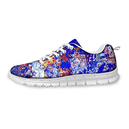 MODEGA de Bolos Arte de Las Zapatillas para los Hombres Que Ejecutan los Zapatos de Bolos Zapatos Zapatos de Bolos Cubre de Moda Baratos para los Hombres Tamaño 40 EU