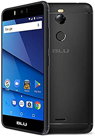 "BLU R2 R0172WW 5.2"" GSM Unlocked 32GB - 2GB RAM Dual Sim 4G LTE 13MP Android (Black)"