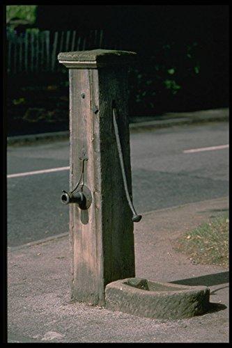 301057 Oude Dorp Waterpomp Berkswell In de buurt van Coventry A4 Photo Poster Print 10x8