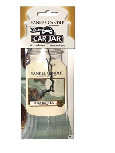 YANKEE CANDLE–Il Burro di Karitè Classic Car Jar, Cartone, Bianco, M,