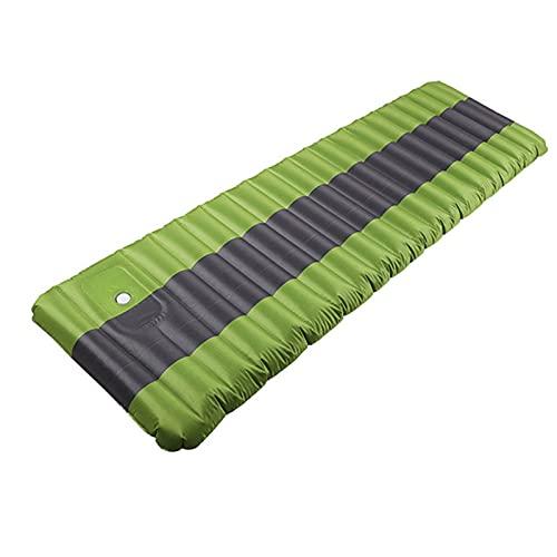 Esterilla Camping,Esterilla Hinchable 12 cm colchón de aire colchón camping colchón inflable colchón de aire impermeable al aire libre camping alfombra de dormir portátil ultraligero ultraligera