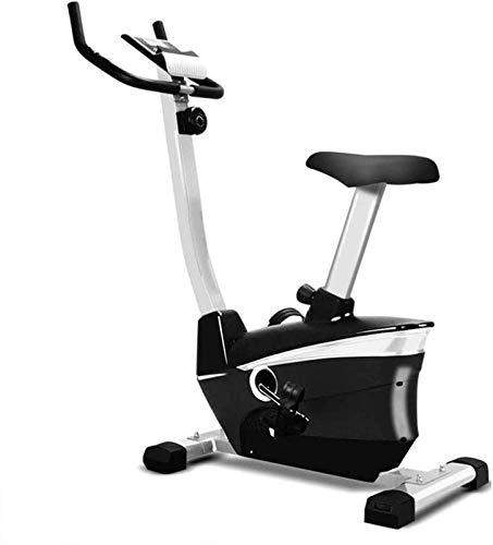Qianglin Bicicletas de Ejercicios controladas magnéticamente, Bicicletas de Cuerpo Ultra Tranquilo en el hogar, Deportes de Montar en casa, Bicicletas de Hilado Cojín de Asiento Ajustable