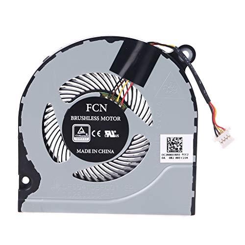 LEXIANG Ventilador de refrigeración de CPU para Ordenador portátil para Acer Shadow Knight 3 Nitro AN515-51 52 G A717 N17C1 para DFS541105FCOT FJCL DC 5V 0.5A