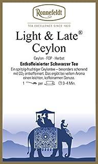 Ronnefeldt - Light & Late Ceylon FOP - Schwarzer Tee aus Ceylon - 100g