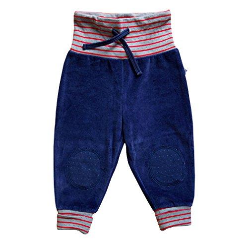 Leela Cotton bébé/Enfants Nicky Pantalon de Pur Coton Bio - Bleu -