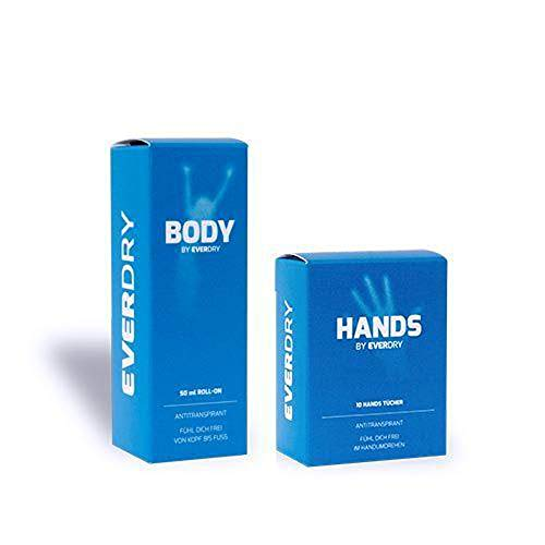 Vorteilspaket: Body Roll-On + Hands Tücher