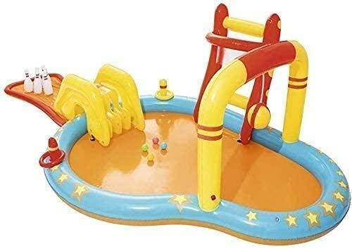 HJQFDC Faltungsschwimmbad, aufblasbarer Pool, Ozean-Ballpool, Kinderbecken, Badewanne, aufblasbare Wasserparkspielzeug Party Toys Peng MEI