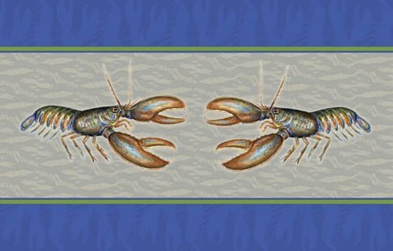 Betsy Drake Coastal Lobster Door Mat, 18  x 26