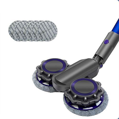 Elektrische Steam Mop, Waaronder 6 Microfiber Pads, Wireless Cleaning Mop All-In-One Carpet Floor 1200W Electric Mop…