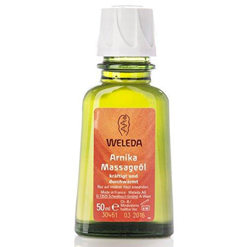 5Pack Weleda Arnika Reise-Massageöl 5x 50ml