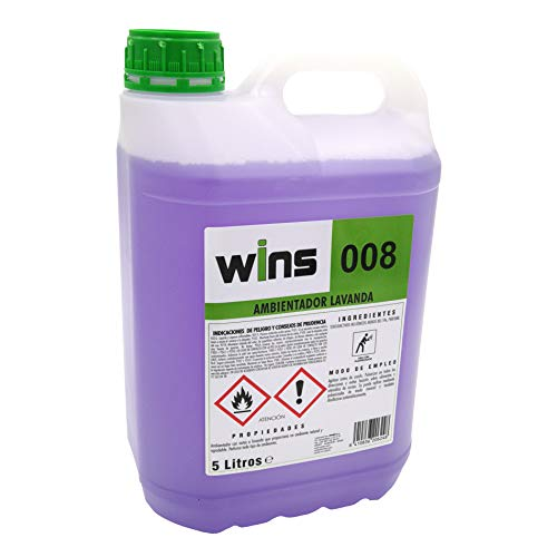 Wins Professional Air Freshener + Bottle with spray, carafe of 5 liters. Aroma of Lavender