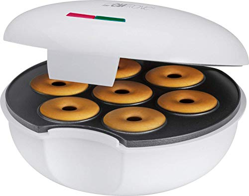 Clatronic DM 3495 Máquina para Hacer Donuts o Rosquillas,