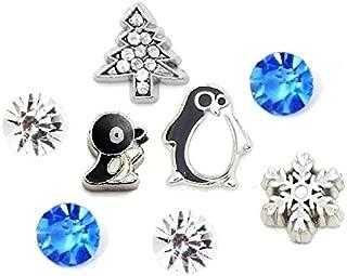 penguin floating charm