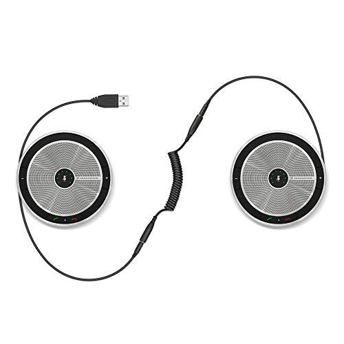 Sennheiser SP 220 MS (507211) - Sound-Enhanced, User-Friendly Mobile Speaker Phone | For Desk/Mobile Phone & Softphone/PC Connection | Skype for Business Certified w/ Major UC Platform Compatibility