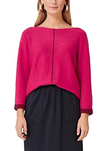 s.Oliver Damen 14.908.61.5332 Pullover, Rosa (Pink 4436), (Herstellergröße: 36)