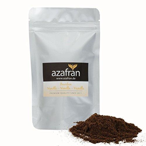 Azafran Bourbon Vanille gemahlen, Vanillepulver 50g
