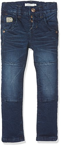 Name It Nittoss XSL DNM Pant NMT Noos Jeans, Gris (Medium Blue Denim), 92 Bébé garçon