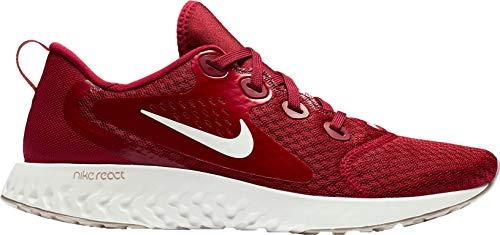 Nike Women's Legend React Running Shoes (9, Maroon)