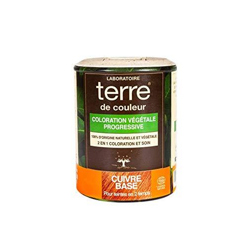 Terre de Couleur Coloration Végétale Cuivré Base 100 g