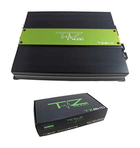 Check Out This Tezla Audio 2000 Watt Amp @ 1 Ohm Amplifier RGB Lights Built in TZ2KD