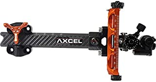 "Axcel ACXP-C6R-OB Achieve XP Compound Orange/Black 6"" RH Archery Bow Sight"
