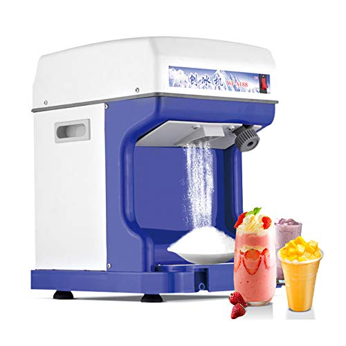 Best Review Of ALUS- Ice Shaver Blender,with Adjustable 250W Upgrade Electric Snow Cone Maker, Table...